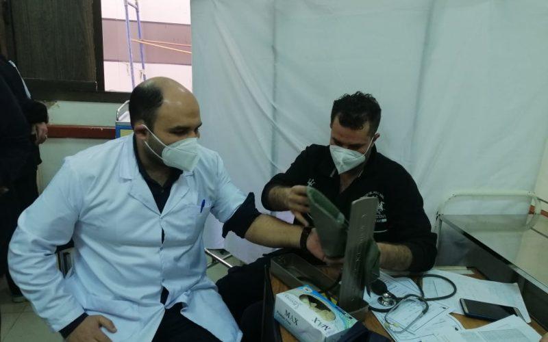 هيئة الرعاية الصحية تبدأ تطعيم الأطقم الطبية بلقاح كورونا بمستشفيات عزل بورسعيد(صور )
