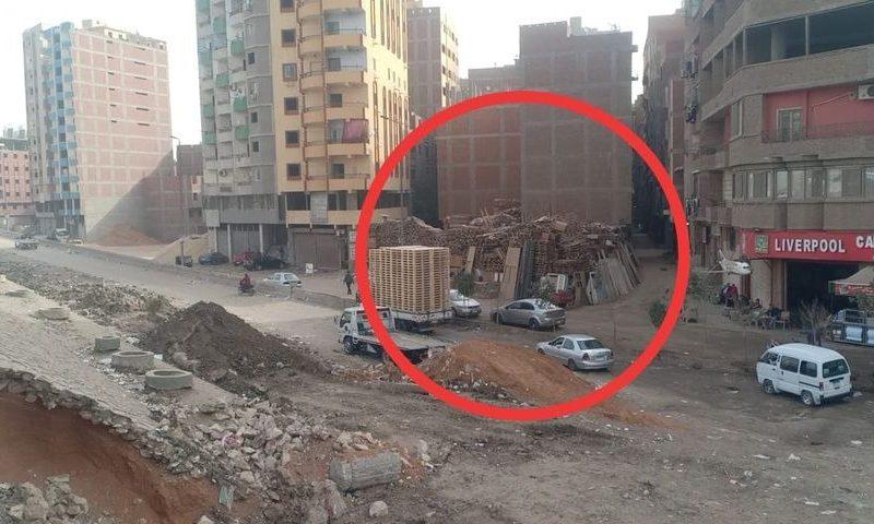 قبل تكرار كارثة عقار فيصل.. شونة خشب تهدد حياة سكان شارع عمار بن ياسر ببهتيم