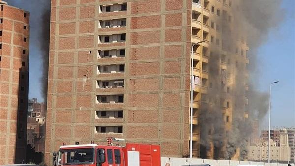 برلمانية تتقدم بطلب إحاطة حول عقار الدائري المحترق