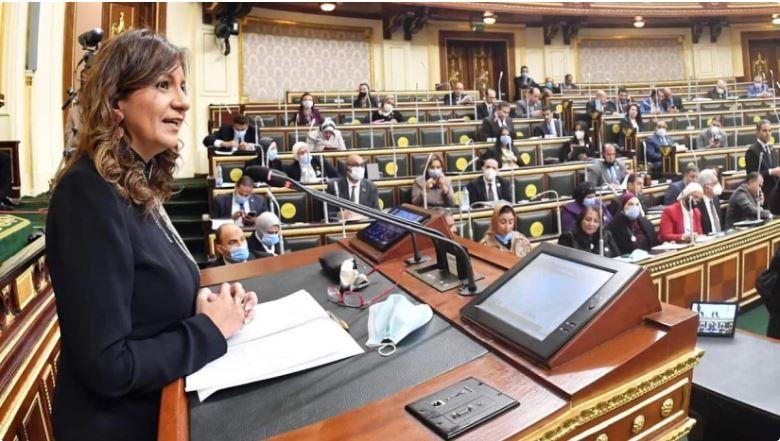 وزيرة الهجرة: سنتحمل النفقات الخاصة بالعالقين حتى يتم فتح الطيران للكويت