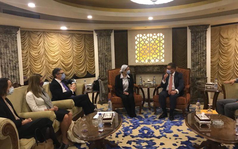 وزيرة البيئة: نتطلع إلى تعاون مثمر بين مصر وبريطانيا خلال مؤتمر جلاسكو