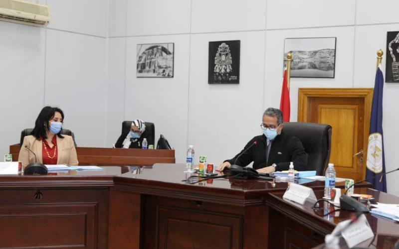 وزير الآثار يوافق على اعتماد تكلفة برنامج إعادة تفعيل وحدة الحسابات الفرعية للسياحة
