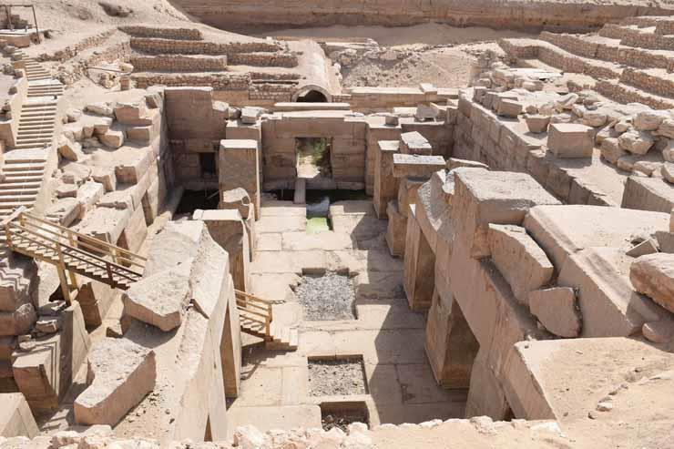 آثار سوهاج: 3 مناطق مغلقة أمام الزوار ولا يمكن فتحها إلا بموافقة الوزارة