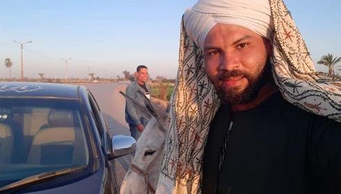 """إيمان الحصري تشيد بـ""""القاهرة 24″ لمصداقيته في نشر رحلة صاحب الحمار من الجيزة إلى أسوان (فيديو)"""