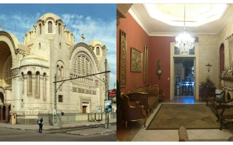 كنيسة وقصر خارج عداد الآثار القبطية