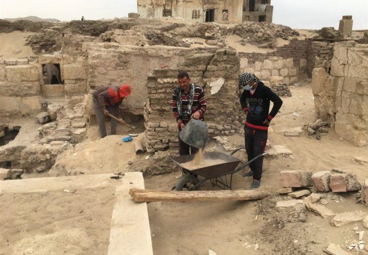 انتهاء عمل البعثة الأثرية بمشروع الكشف عن معبد أتريبس بسوهاج