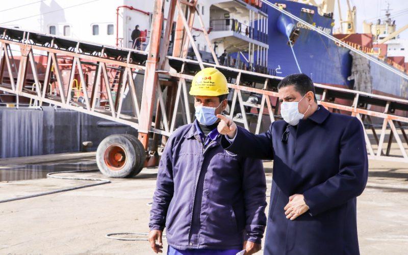 ميناء دمياط: مغادرة قطار بضائع بحمولة 1327 طن قمح متجهًاإلى صوامعشبرا