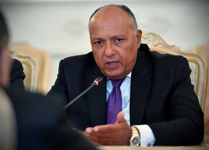 شكري يؤكد لوزير خارجية حكومة الوفاق الليبية ثوابت الموقف المصري