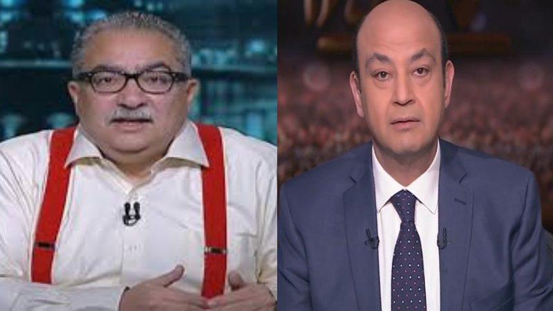 إبراهيم عيسى: عمرو أديب الإعلامي الأول في الوطن العربي والشماتة فيه انحطاط أخلاقي