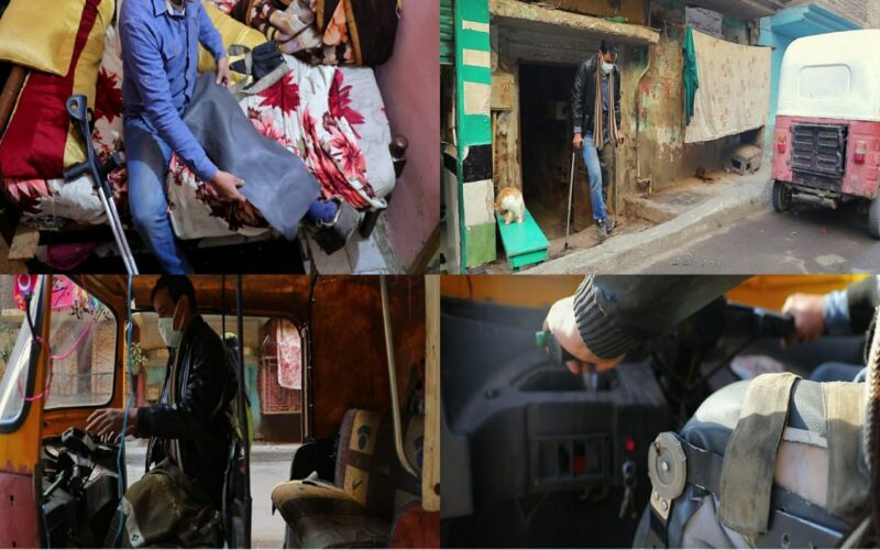 """مواطن يستغيث بوزيري العدل والتضامن: """"عايز أتعالج وأجيب حقي"""" (صور وفيديو)"""