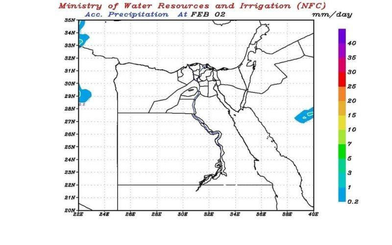 """""""مركز التنبؤ"""": توقعات بعدم سقوط أمطار خلال الـ3 أيام المقبلة (خرائط)"""